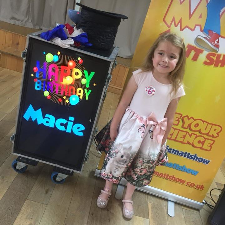 The Magic Matt Show Birthday Party