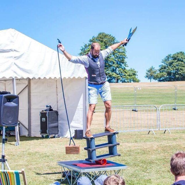 The Magic Matt Show Balancing Act