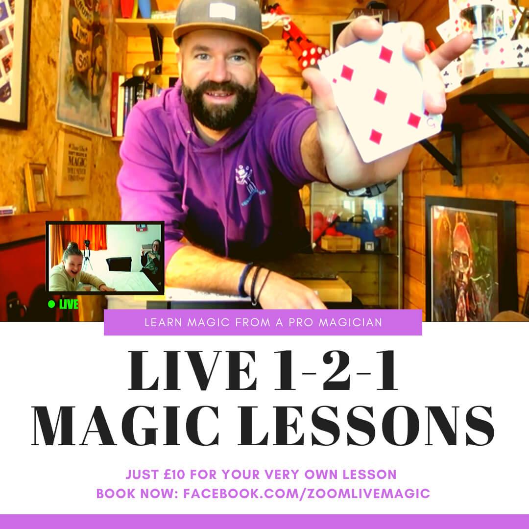 The Magic Matt Show Live Lessons Promo
