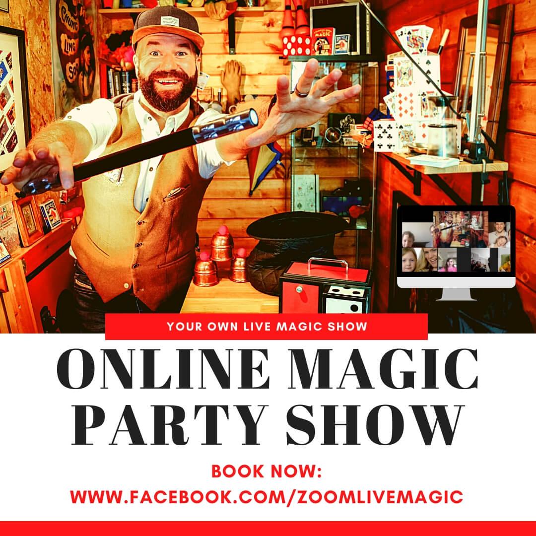 The Magic Matt Show Online Magic Party Show